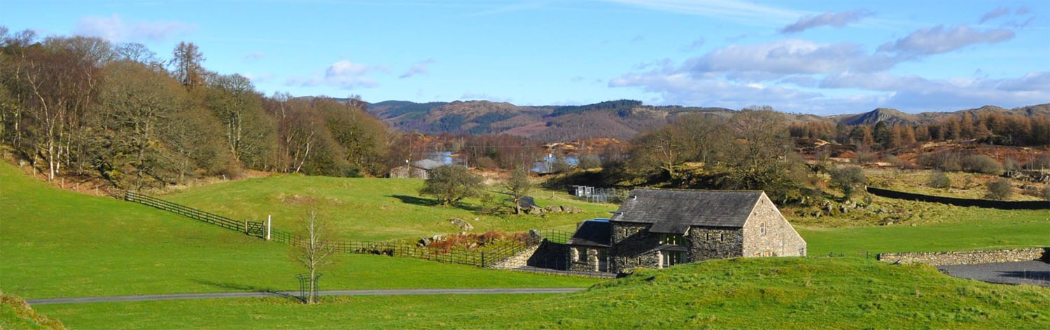 Mungeon Barn holiday cottage in the Lake District